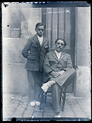 friends or brothers portrait France ca 1930s