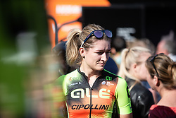 Karlijn Swinkels (NED) of Ale-Cipollini Cycling Team prepares for the Amstel Gold Race - Ladies Edition - a 126.8 km road race, between Maastricht and Valkenburg on April 21, 2019, in Limburg, Netherlands. (Photo by Balint Hamvas/Velofocus.com)