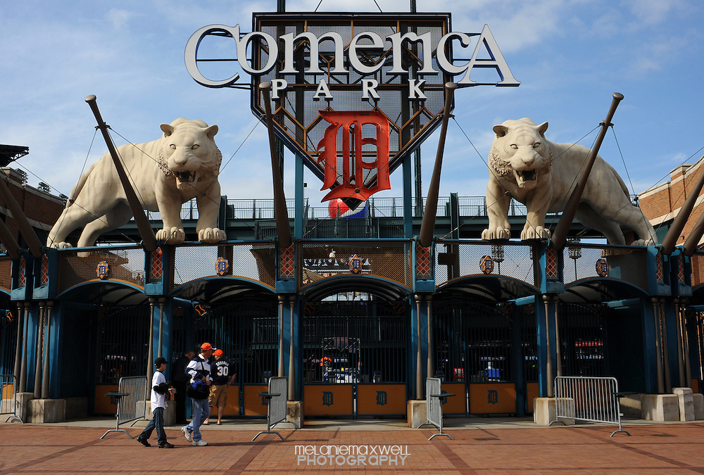 Comerica Park, Detroit, Michigan
