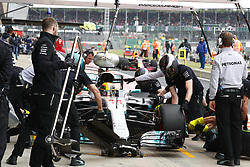 July 15, 2017 - Silverstone, Great Britain - Motorsports: FIA Formula One World Championship 2017, Grand Prix of Great Britain, .#44 Lewis Hamilton (GBR, Mercedes AMG Petronas F1 Team) (Credit Image: © Hoch Zwei via ZUMA Wire)