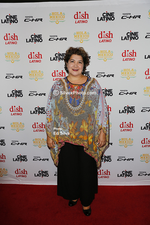LOS ANGELES, CA - JUNE 7 blanca araceli attends the 9th Annual Hola Mexico Film Festival Opening Night at the Regal LA LIVE in downtown Los Angeles, on June 7, 2017 in Los Angeles, California. Byline, credit, TV usage, web usage or linkback must read SILVEXPHOTO.COM. Failure to byline correctly will incur double the agreed fee. Tel: +1 714 504 6870.
