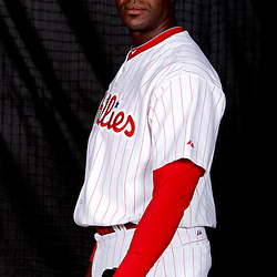 February 22, 2011; Clearwater, FL, USA; Philadelphia Phillies relief pitcher Jose Contreras (52) poses during photo day at Bright House Networks Field. Mandatory Credit: Derick E. Hingle