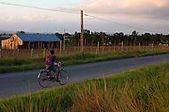 Bicycle in San Luis, Pinar del Rio, Cuba.