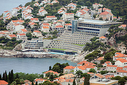 21.06.2015, Dubrovnik, CRO, Dubrovnik ist eine Stadt im südlichen Kroatien an der Adria, im Bild Panoramic view of Dubrovnik from Srdj Mountain. Libertas Rixos Hotel // is a city in southern Croatia on the Adriatic Sea, pictured on 17. June in Dubrovnik, Croatia on 2015/06/21. EXPA Pictures © 2015, PhotoCredit: EXPA/ Pixsell/ Grgo Jelavic<br /> <br /> *****ATTENTION - for AUT, SLO, SUI, SWE, ITA, FRA only*****