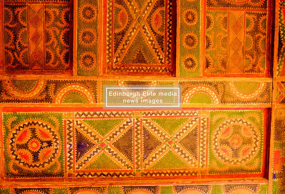 An ornamental door in the Kasbah de Taourirt, Ouarzazate<br /> <br /> (c) Andrew Wilson   Edinburgh Elite media