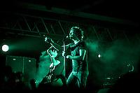 Banda mexicana Zoe tocando en vivo en el Festival Verde Panama 2011.