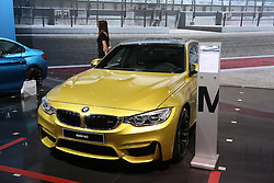 05.04.2016, Zagreb, CRO, Zagreb Auto Show, im Bild BMW M3 // Press day at Zagreb fair before official opening of Zagreb Auto Show at Zagreb, Croatia on 2016/04/05. EXPA Pictures © 2016, PhotoCredit: EXPA/ Pixsell/ Dalibor Urukalovic<br /> <br /> *****ATTENTION - for AUT, SLO, SUI, SWE, ITA, FRA only*****