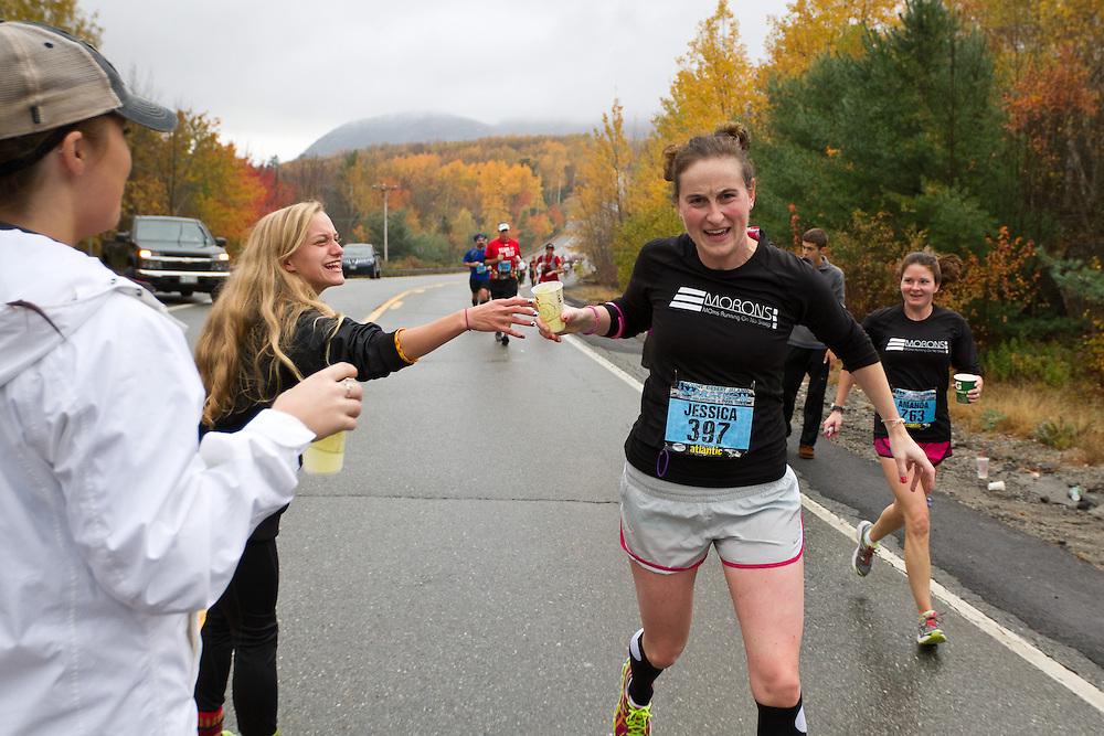 Mount Desert Island Marathon: Jessica Woodcock