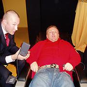 Miljonairfair 2004, Gordon in relaxstoel