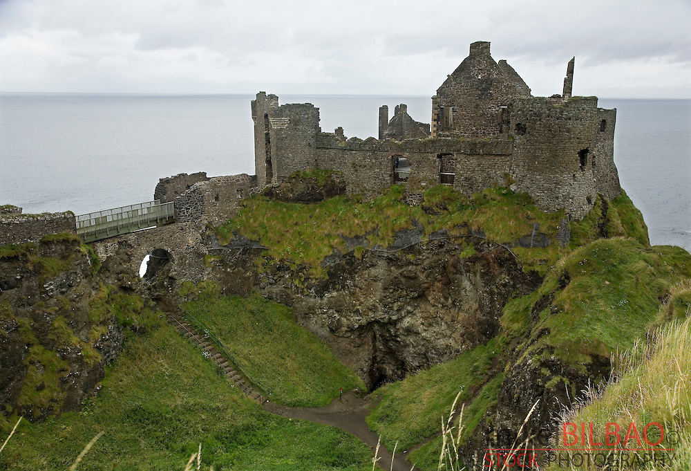 Dunluce Castle, in &quot;Causeway Route&quot; coast. <br /> Northern Ireland, United Kingdom (1)