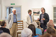 Kokoschka's Doll_Pre-concert talk led by Dr Paul Edlin; Artistic Director of the Deal Festival. With John Caskin (R) & David Matthews (L)