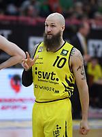 Barmer 2. Basketball Bundesliga  2018/2019  10. Spieltag Tigers Tuebingen - VfL Kirchheim Knights   18.11.2018 Tyler Amos Laser (Tigers)