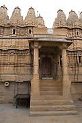 India, Rajasthan, Jaisalmer, Jain temple in Jaisalmer fort