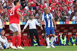 October 7, 2018 - Lisbon, Portugal - Porto's head coach Sergio Conceicao reacts during the Portuguese League football match SL Benfica vs FC Porto at the Luz stadium in Lisbon on October 7, 2018. (Credit Image: © Pedro Fiuza/ZUMA Wire)