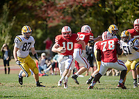 St Paul's School Varsity Football with BB&N.  ©2014 Karen Bobotas Photographer