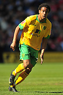 London - Saturday, April 17th 2010: Oli Johnson of Norwich City during the Coca Cola League One match at The Valley, Charlton...(Pic by Alex Broadway/Focus Images)