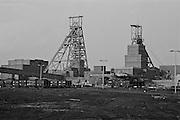 Barnburgh Colliery, British Coal, South Yorkshire Area . 09-02-1989