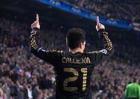 Football - Champions League - Ajax vs. Real Madrid Real Madrid's Jose Callejon celebrates his goal in the dying seconds.