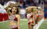 January 2, 2009; New Orleans, LA, USA; Alabama Crimson Tide majorettes perform during the band's pregame performance in the Sugar Bowl at the Louisiana Superdome in New Orleans. Alabama was defeated 31-17 by the Utah Utes. Mandatory Credit: Crystal LoGiudice-US PRESSWIRE ..