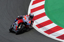 June 17, 2018 - Barcelona, Catalonia, Spain - The Italian rider, Andrea Dovizioso of Ducati Team, during the Catalunya Motorcycle Grand Prix at Circuit de Catalunya on June 17, 2018 in Barcelona, Spain. (Credit Image: © Joan Cros/NurPhoto via ZUMA Press)