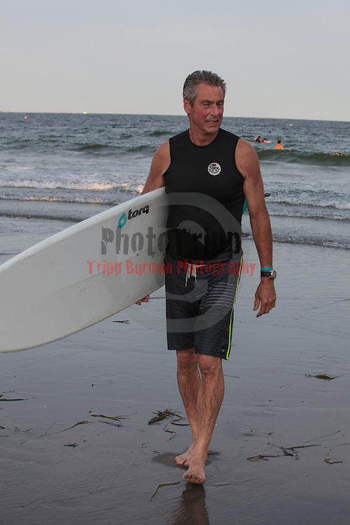 A memorial paddle out to celebrate the life of Joe McGovern.