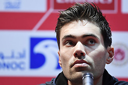 February 23, 2019 - Abu Dhabi - Foto LaPresse - Fabio Ferrari.23 Febbraio 2019 Abu Dhabi (Emirati Arabi Uniti).Sport Ciclismo.UAE Tour 2019 - Conferenza Tor Riders.Nella foto: Tom Dumoulin..Photo LaPresse - Fabio Ferrari.February 23, 2019 Abu Dhabi (United Arab Emirates) .Sport Cycling.UAE Tour 2018 - Top rider press conference.In the pic: Tom Dumoulin (Credit Image: © Fabio Ferrari/Lapresse via ZUMA Press)