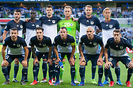 MELBOURNE, VIC - MARCH 05: Melbourne Victory pose for a team photo prior to the start of the match during the AFC Champions League soccer match between Melbourne Victory and Daegu FC on March 05, 2019 at AAMI Park, VIC. (Photo by Speed Media/Icon Sportswire)