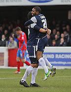 Dagenham and Redbridge v Southend United 261212
