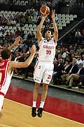 DESCRIZIONE : Roma Lega A1 2006-07 Lottomatica Virtus Roma Whirlpool Varese <br /> GIOCATORE : Askrabic <br /> SQUADRA : Lottomatica Virtus Roma <br /> EVENTO : Campionato Lega A1 2006-2007 <br /> GARA : Lottomatica Virtus Roma Whirlpool Varese <br /> DATA : 25/04/2007 <br /> CATEGORIA : Tiro <br /> SPORT : Pallacanestro <br /> AUTORE : Agenzia Ciamillo-Castoria/G.Ciamillo