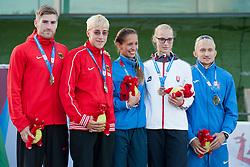 MUELLER-ROTTGARDT Katrin, BOTURCHUK Oxana, KOLNIKOVA Hanka, 2014 IPC European Athletics Championships, Swansea, Wales, United Kingdom