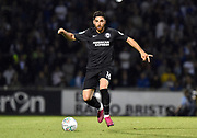 Alireza Jahanbakhsh (16) of Brighton and Hove Albion during the EFL Cup match between Bristol Rovers and Brighton and Hove Albion at the Memorial Stadium, Bristol, England on 27 August 2019.