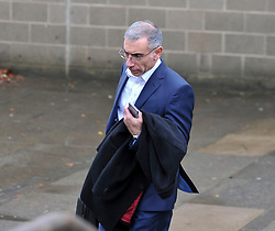 Pictured: Accountant Steven Simou leaves Court after giving his evidence.<br /> <br /> Author JK Rowling is suing her former PA Amanda Donaldson for damages after the Harry Potter author claimed Ms Donaldson used Ms Rowling's money to go on lavish shopping sprees, including buying two designer cats, spending more than &pound;3600 GBP on makeup and more than &pound;1600 GBP in coffee chain Starbucks. The case, before Sheriff Derek O'Carroll, is being heard at Airdrie Sheriff Court.<br /> <br /> (c) Dave Johnston / EEm