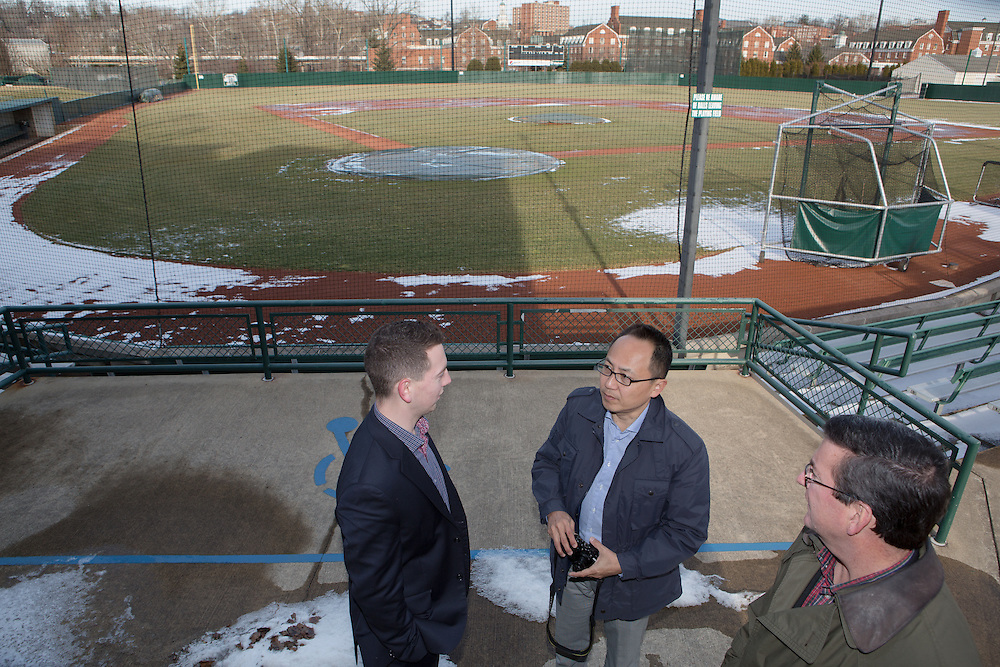 Nobuhisa Ito visit to Bob Wren Stadium for College of Business. Photo by Lauren Pond