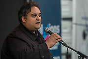 Claude Moraes MEP - A march against racism, organised by Stand Up to Racism and supporterd by the TUC and most major unions including Unison, Unite, The PCS and the NUT. It started in Portland place and ended up in Parlaiment Square, Westminster - London 18 Mar 2017.