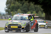 #18 Mark Wakefield Mini F56 JCW during the MINI Challenge - JCW at Oulton Park, Little Budworth, Cheshire, United Kingdom. August 20 2016. World Copyright Peter Taylor/PSP.
