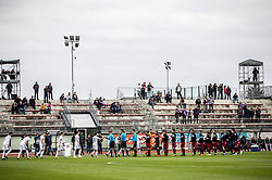 Players before Football match between NK Triglav and NK Maribor in 25th Round of Prva liga Telekom Slovenije 2018/19, on April 6, 2019, in Sports centre Kranj, Slovenia. Photo by Vid Ponikvar / Sportida