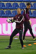 Joe Hart of England during the England Training at Estadio Jos&eacute; Rico P&eacute;rez, Alicante<br /> Picture by Paul Chesterton/Focus Images Ltd +44 7904 640267<br /> 12/11/2015