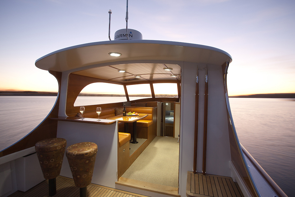 CLIENT: Salthouse Boatbuilders<br /> DESCRIPTION: Interior and product photography of new boat
