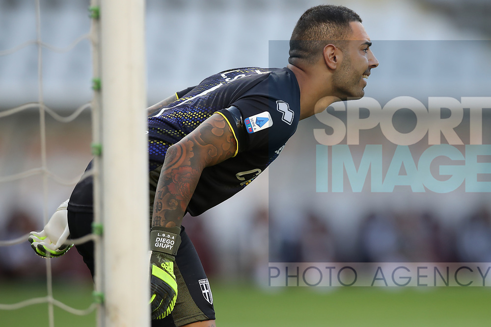 Parma Calcio's Italian goalkeeper Luigi Sepe during the Serie A match at Stadio Grande Torino, Turin. Picture date: 20th June 2020. Picture credit should read: Jonathan Moscrop/Sportimage