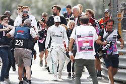 May 25, 2019 - Monte Carlo, Monaco - Motorsports: FIA Formula One World Championship 2019, Grand Prix of Monaco, ..#44 Lewis Hamilton (GBR, Mercedes AMG Petronas Motorsport), Angela Cullen (GBR, Mercedes AMG Petronas Motorsport) (Credit Image: © Hoch Zwei via ZUMA Wire)