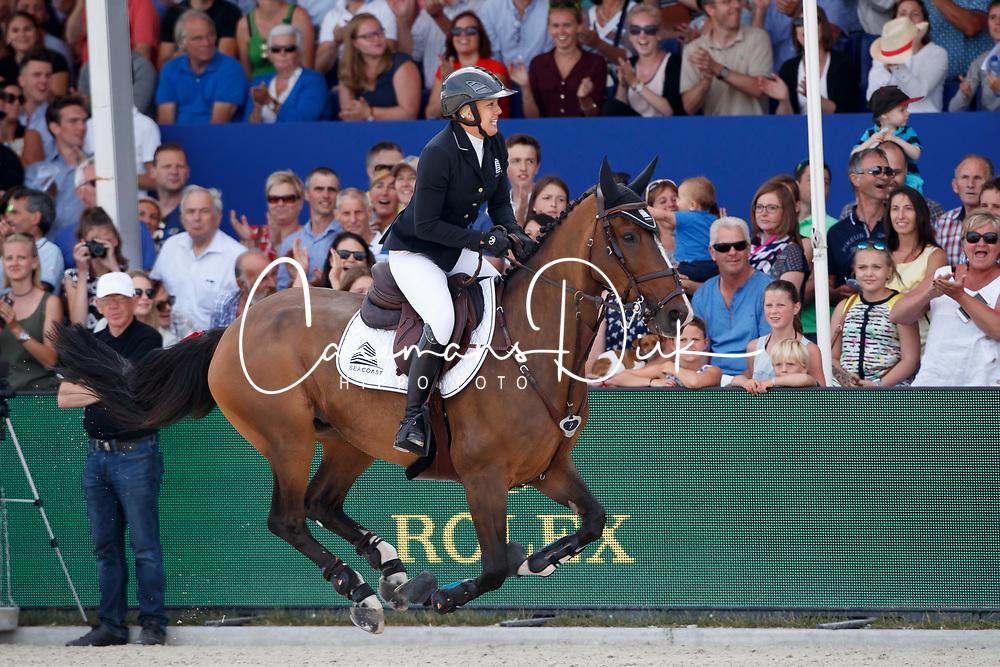 Patteet Gudrun, BEL, Sea Coast Pebbles Z<br /> Rolex Grand Prix CSI 5* - Knokke 2017<br /> &copy; Hippo Foto - Dirk Caremans<br /> 09/07/2017