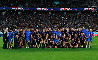 Rugby Union - 2019 Rugby World Cup - Bronze Final (Third Place Play-Off): Wales vs. France<br /> <br /> New Zealand team group at Tokyo Stadium, Tokyo.<br /> <br /> COLORSPORT/LYNNE CAMERON