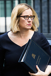 London, June 20th 2017. Home Secretary Amber Rudd attends the weekly cabinet meeting at 10 Downing Street in London.