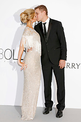 May 25, 2017 - Antibes, Alpes-Maritimes, Frankreich - Paris Hilton and Chris Zylka attending the amfAR's 24th Cinema Against Aids Gala during 70th Cannes Film Festival at Hotel du Cap-Eden-Roc in Antibes on May 25, 2017 (Credit Image: © Future-Image via ZUMA Press)