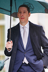 © Licensed to London News Pictures. 03/03/2017. London, UK. NICK CANDY arrives at the Royal Courts of Justice in London on 3 March 2017. Brothers Nick and Christian Candy are being sued in a dispute over a £12m loan which was used to help fund Mark Holyoake's own project at Grosvenor Gardens House in central London. Photo credit: Tolga Akmen/LNP
