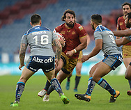 Antoni Maria of Catalans Dragons in action during the Ladbrokes Challenge Cup match at the John Smiths Stadium, Huddersfield<br /> Picture by Richard Land/Focus Images Ltd +44 7713 507003<br /> 31/05/2018