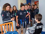 Rosaria Aiello<br /> Roberta Bianconi<br /> Visita Sette Rosa Ospedale Policlinico Universitario Agostino Gemelli<br /> Photo Pasquale Mesiano/ Deepbluemedia /Insidefoto