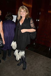 CAROLE ASHBY at a dinner hosted by Liberatum to honour Francis Ford Coppola held at the Bulgari Hotel & Residences, 171 Knightsbridge, London on 17th November 2014.