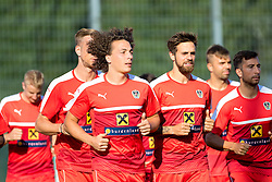 30.08.2016, Ernst Happel Stadion, Wien, AUT, FIFA WM Qualifikation, Georgien vs Oesterreich, Gruppe D, Training Oesterreich, im Bild  v.l. Julian Baumgartlinger, Martin Harnik, Markus Suttner// during a training session of Team Austria (AUT) in front of the FIFA World Cup Qualifier Match between Georgia and Austria at the Ernst Happel Stadion, Vienna, Austria on 2016/08/30. EXPA Pictures © 2016, PhotoCredit: EXPA/ Sebastian Pucher