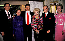 16481.FRED TRUMP AND WIFE WITH SON DONALD TRUMP.  /   1992(Credit Image: © Judie Burstein/ZUMA Wire)